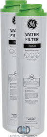 GE FQK2J - Dual Flow Drinking Water Replacement Filters