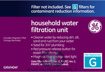 GE GXWH04F - Whole Home Water Filtration System