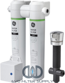 GE GXK285JBL - Twist And Lock Under Counter Dual Flow Water Filtration System
