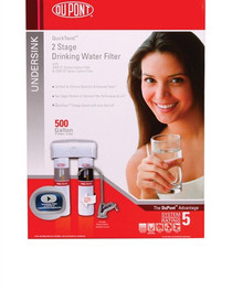 DuPont QuickTwist WFQT273005 - 2-Stage Drinking Water Filtration System