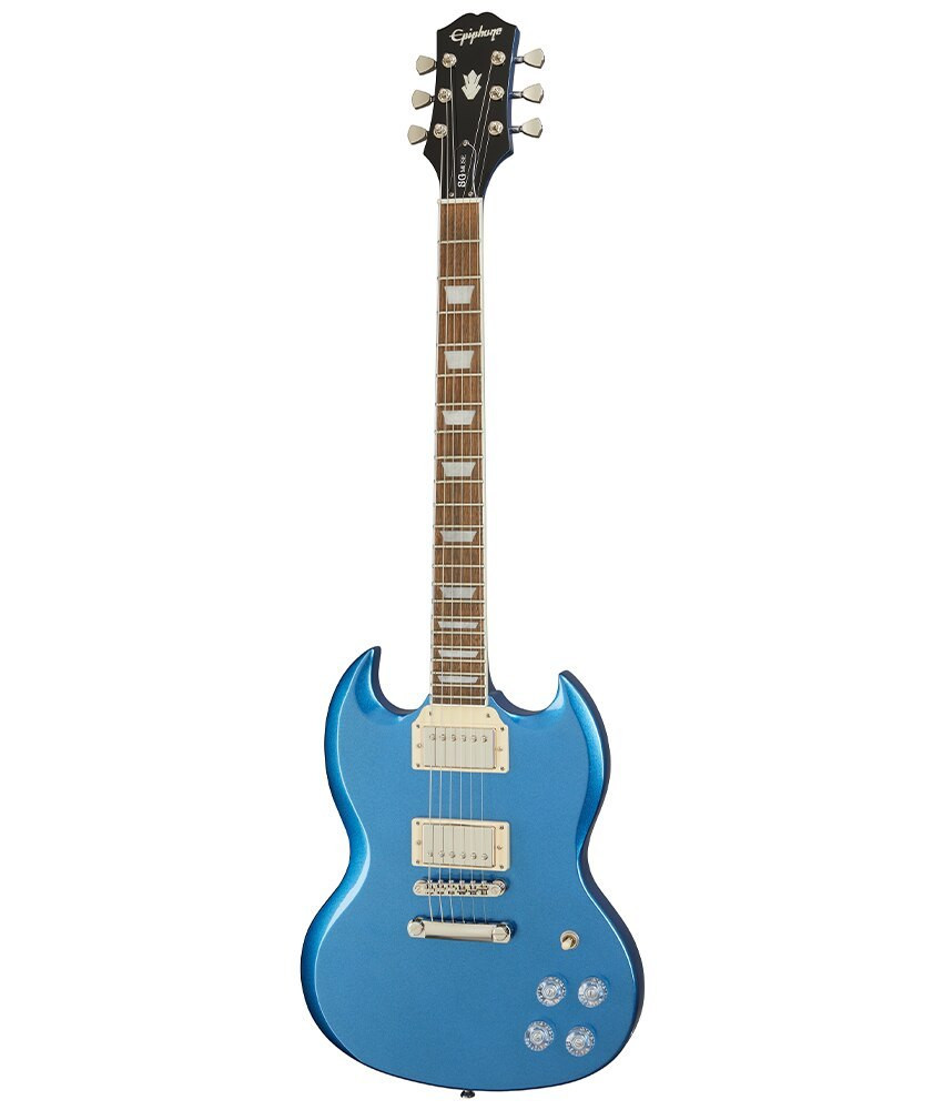Epiphone Epiphone SG Muse Electric Guitar, Radio Blue Metallic