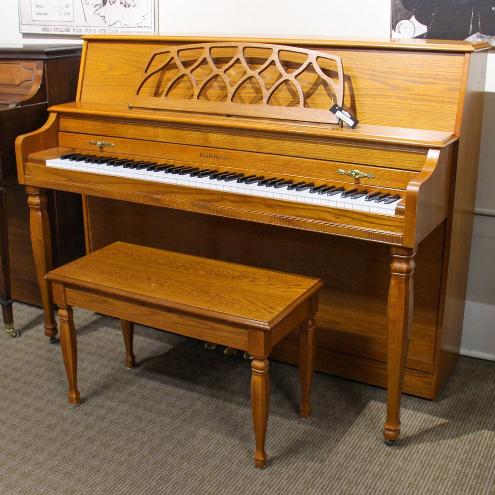 Baldwin Baldwin 665 Oak Console Upright Piano