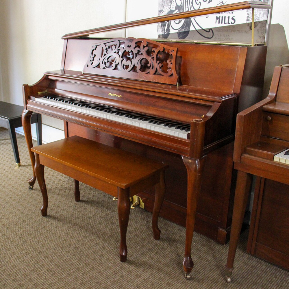 Baldwin Baldwin Upright Console Piano or Mahogany