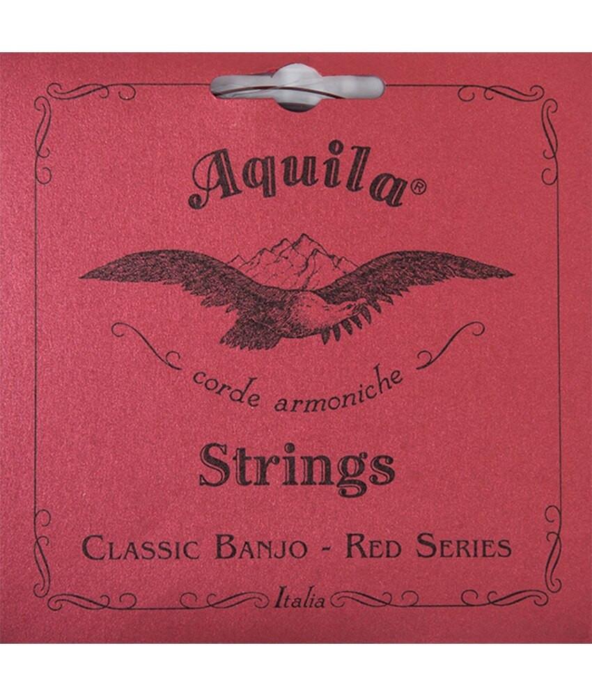 Aquila Aquila 11B Banjo Set, Normal, All Red Series