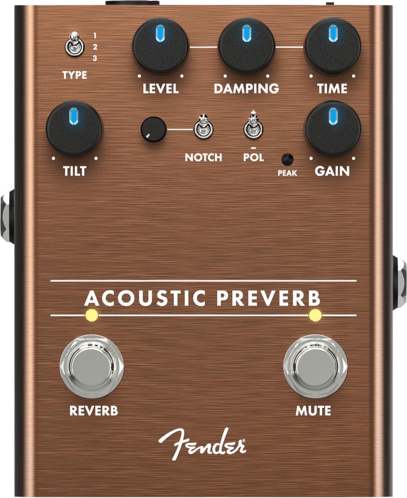 Fender Fender Acoustic Preverb - Preamp/Reverb Pedal