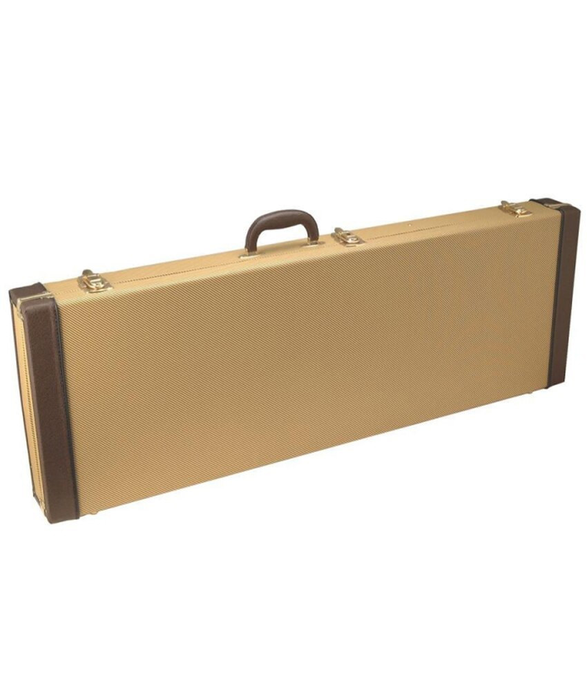 On-Stage On-Stage Hardshell Electric Guitar Case - Tweed