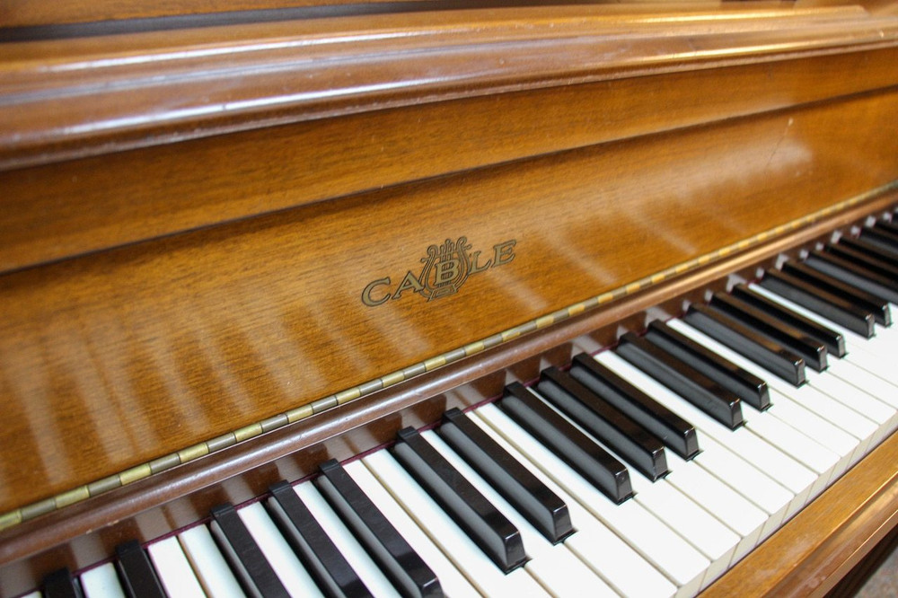 Cable Cable Console Upright Piano