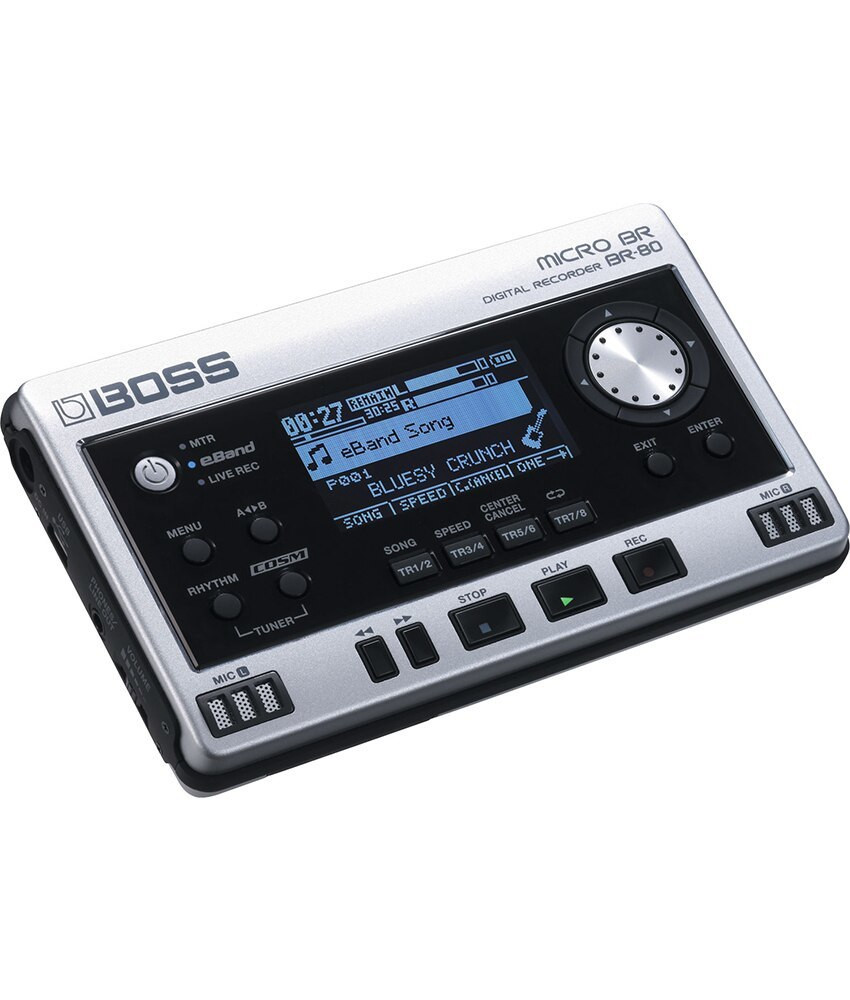 Boss Boss MICRO BR-80 8-channel Digital Recorder