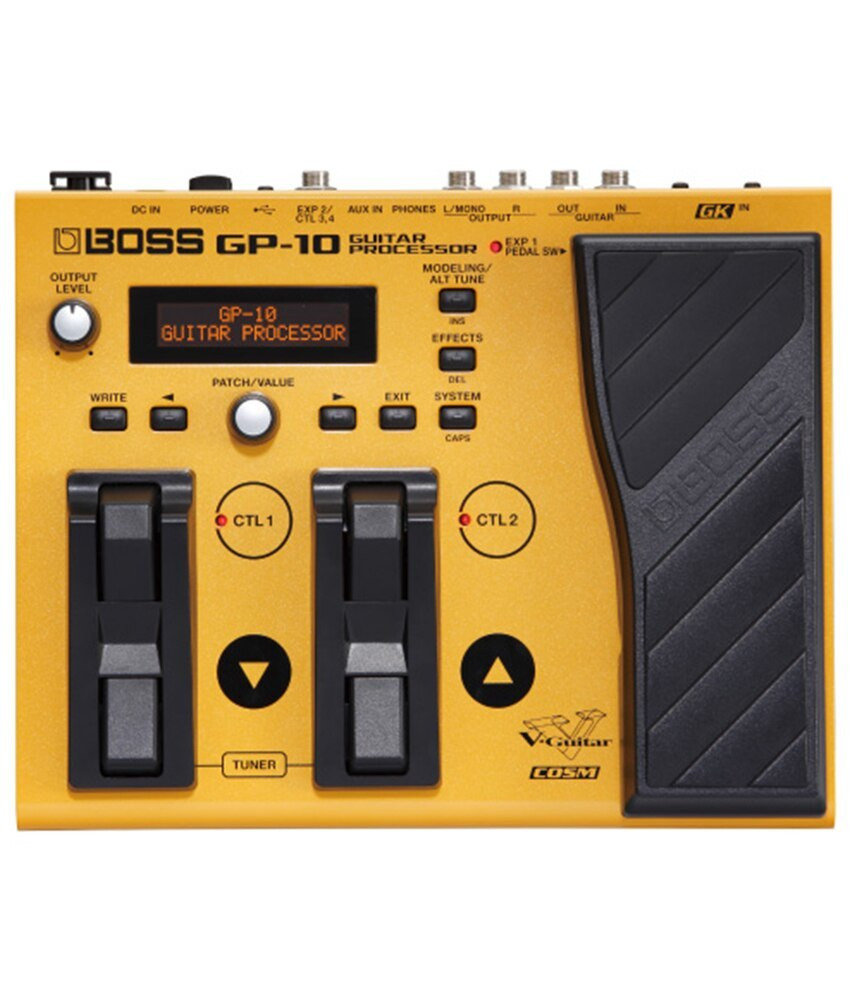 Boss Boss GP-10 Guitar Processor with GK-3 Pickup