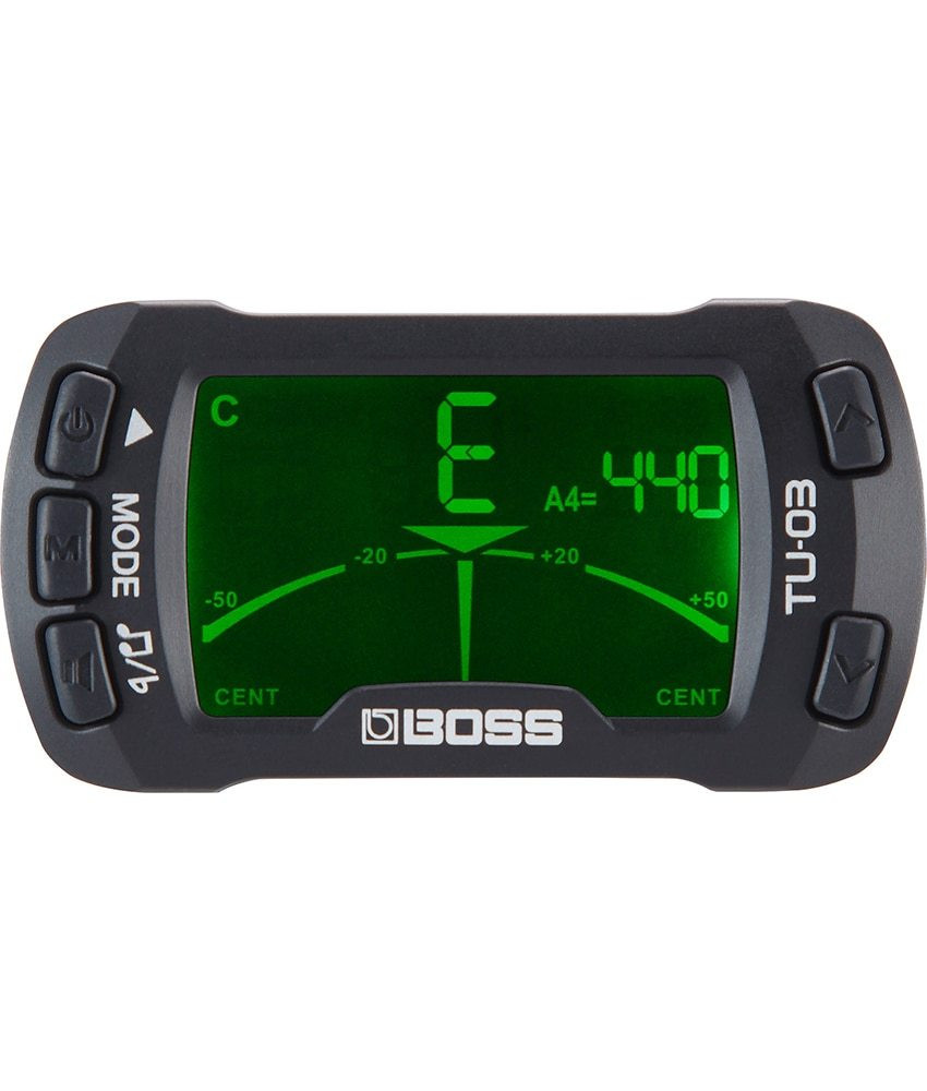 Boss Boss TU-03 Clip on Tuner and Metronome