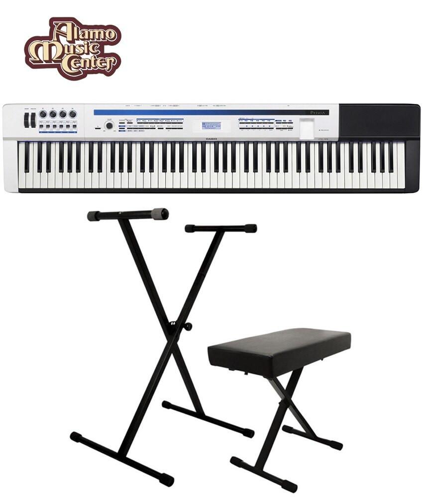 Casio Casio Privia PX-5S 88-key Stage Piano Bundle