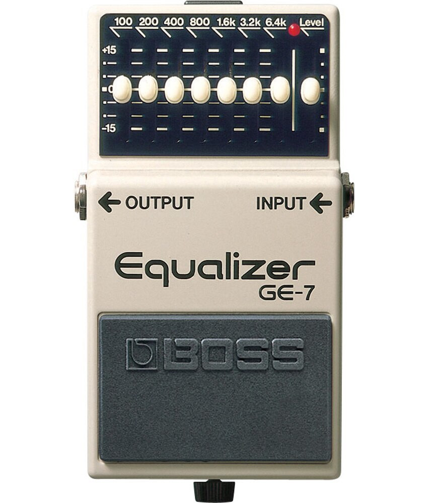 Boss Boss GE7 7-Band Graphic Equalizer