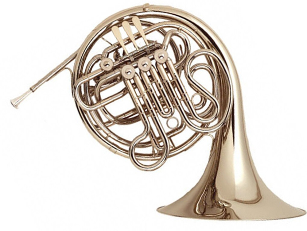 Antigua Winds Antigua Winds FH3310LQA Double French Horn Lacquer w/ ABS