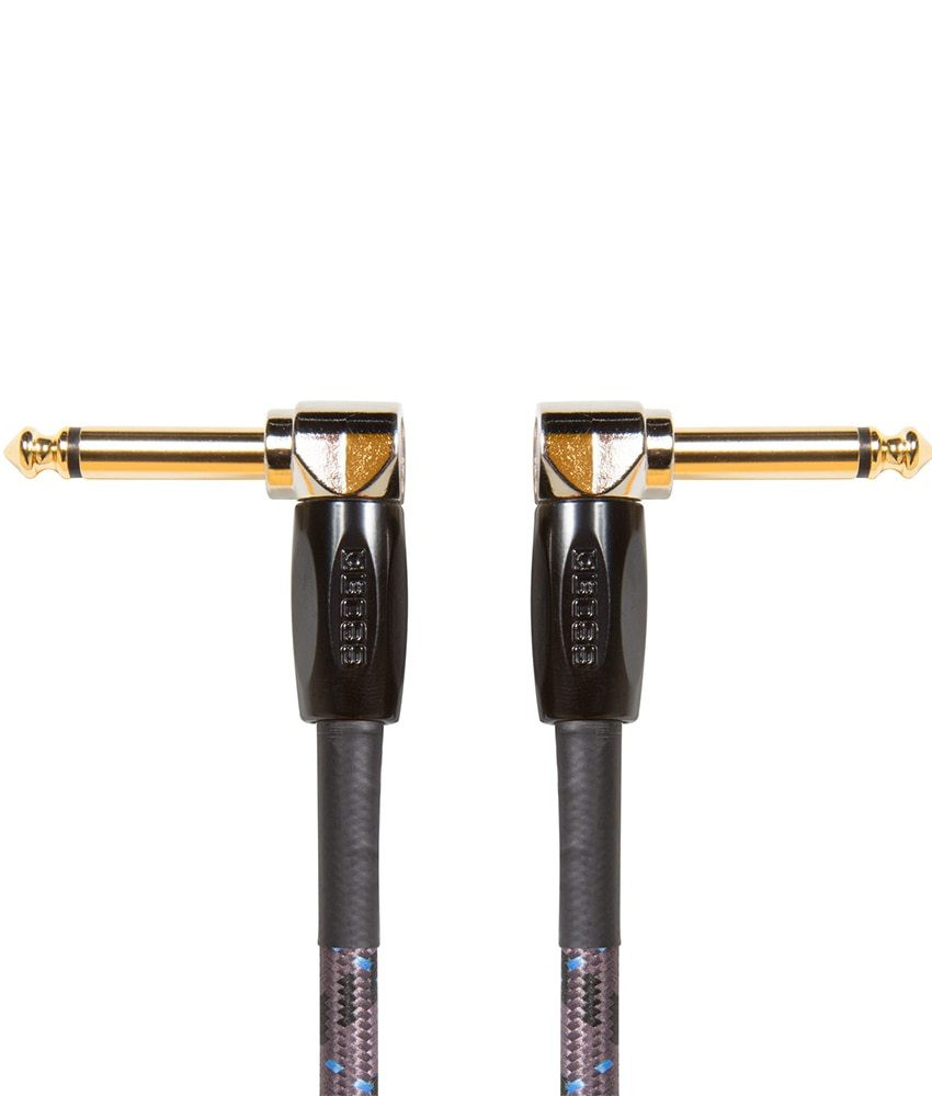 Boss Boss BIC-PC 6 / 15cm Instrument Cable, Angled/Angled 1/4 jack - 3 Pack