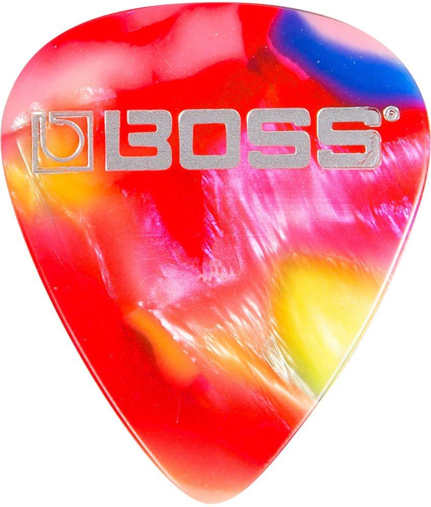 Boss Boss Medium Celluloid Guitar Picks MOSAIC - 12 Pack