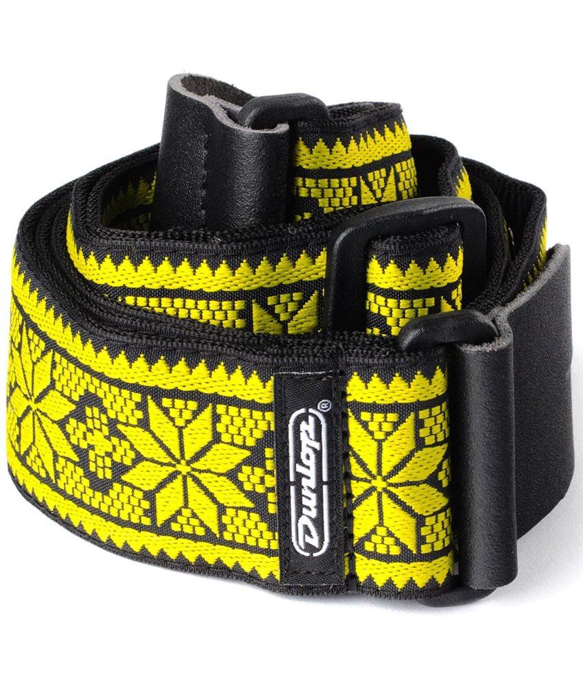 Dunlop Dunlop Jacquard Guitar Strap - Fillmore Yellow