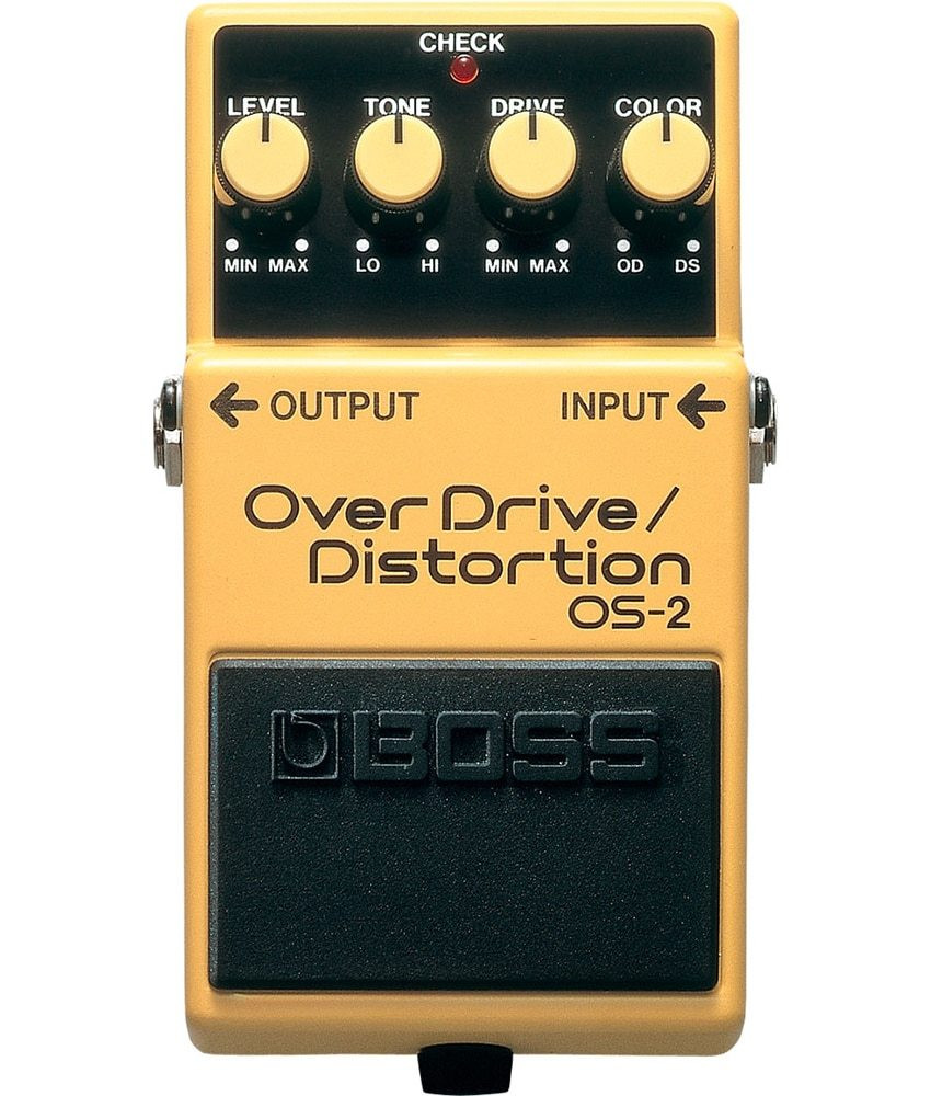 Boss Boss OS-2 Overdrive / Distortion Pedal