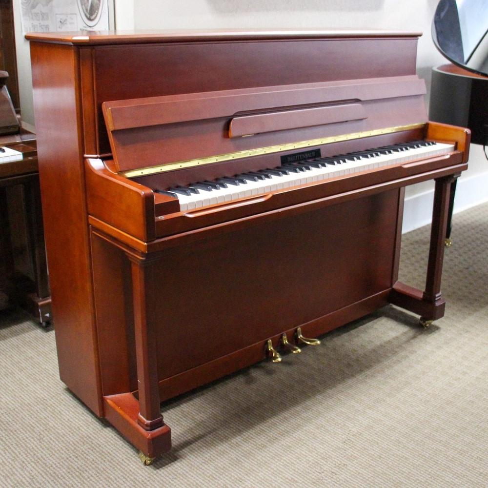 Breitenbach Breitenbach Studio Piano or Walnut
