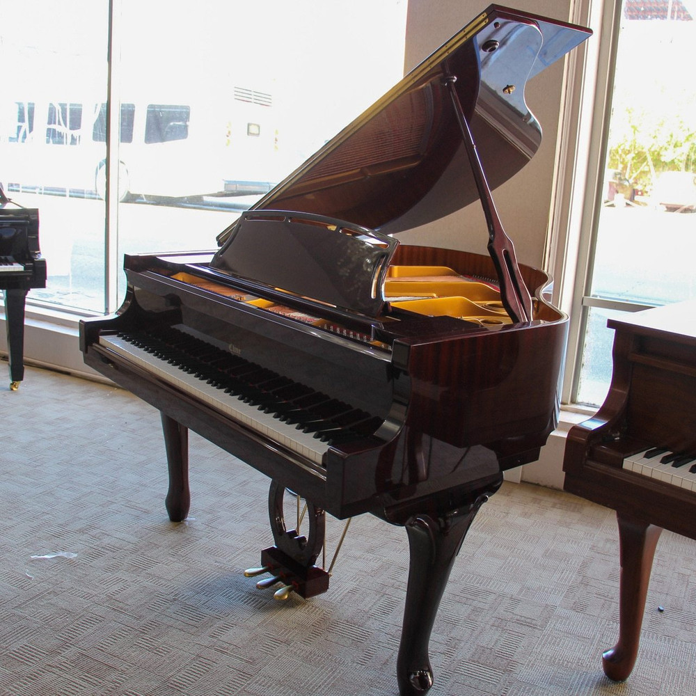 Cline Cline Baby Grand CG49 w/ Matching Bench French Provincial made by Young Chang