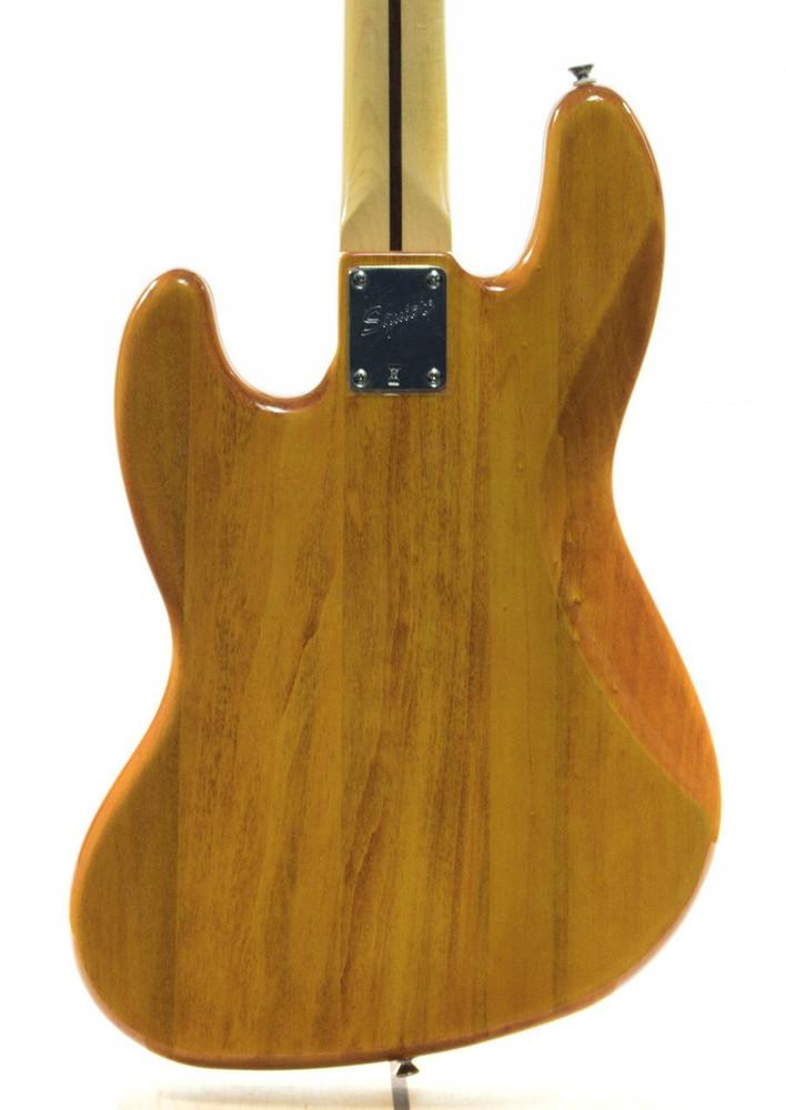 Fender Squier 77 Vintage Modified Jazz Bass Guitar Amber