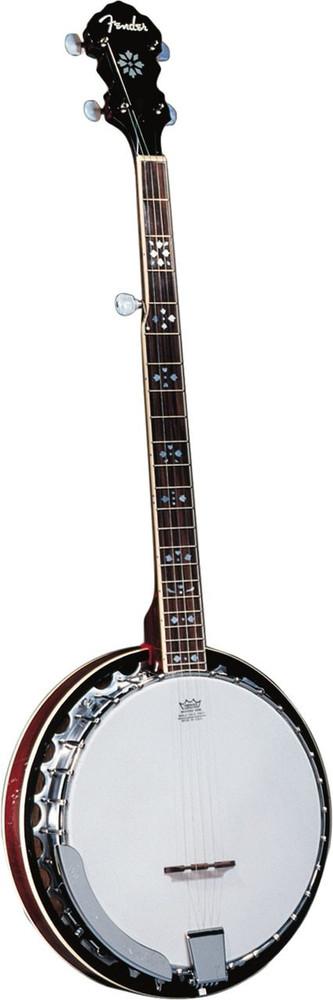 Fender Fender FB-54 Banjo In Natural Mahogany Resonator Aluminum Tone Ring