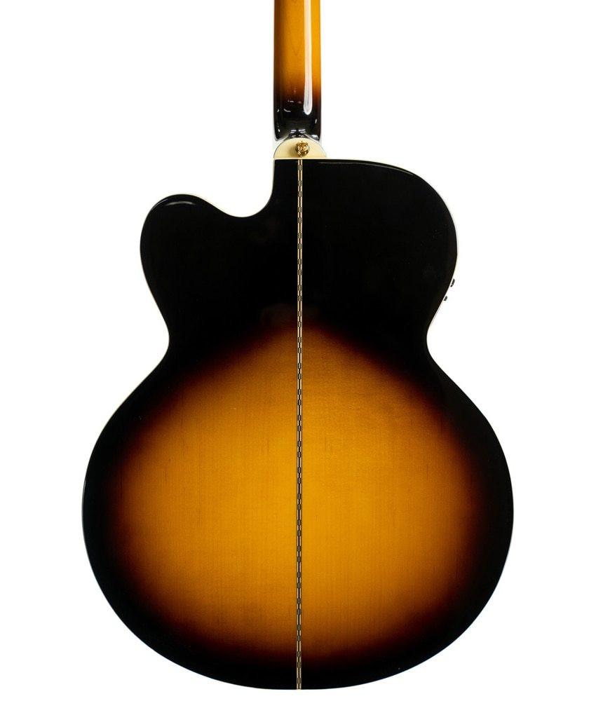 Epiphone Epiphone J-200EC Solid Top Acoustic-Electric - Vintage Sunburst