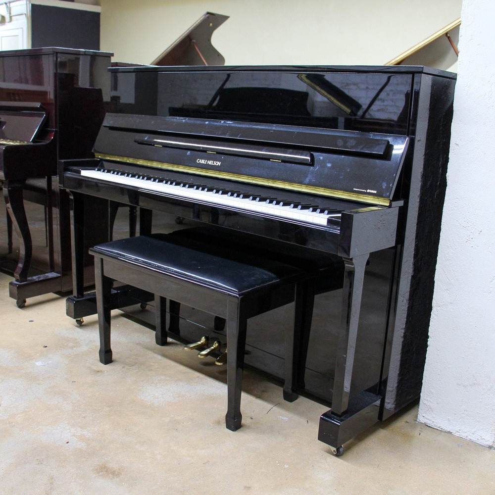 Cable-Nelson Cable-Nelson by Yamaha Polished Ebony Upright Console Piano