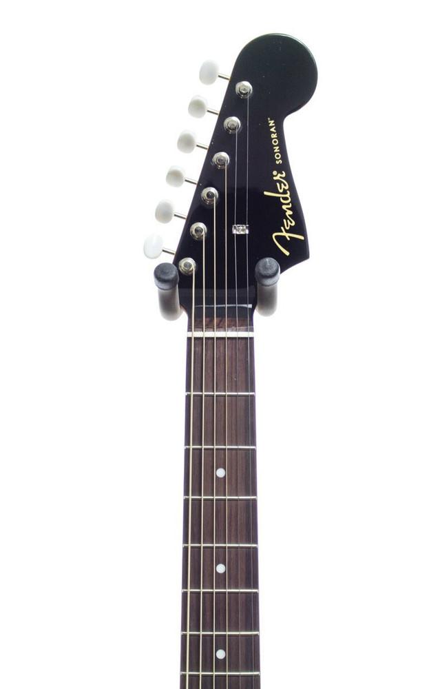 Fender Acoustic Guitars Fender Sonoran SCE Acoustic-Electric Guitar Black