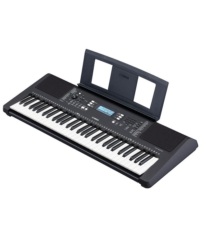 Yamaha Yamaha PSRE-373 61 Key Portable Keyboard w/ Survival Kit