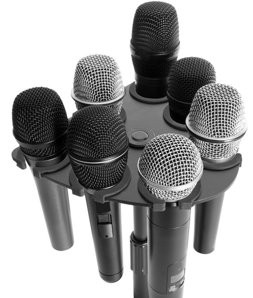 On-Stage On-Stage Multi-Mic Holder - up to 7 mics