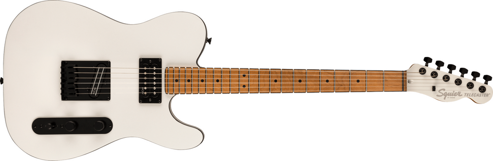 Squier Squier Contemporary Telecaster RH, Roasted Maple Fingerboard - Pearl White