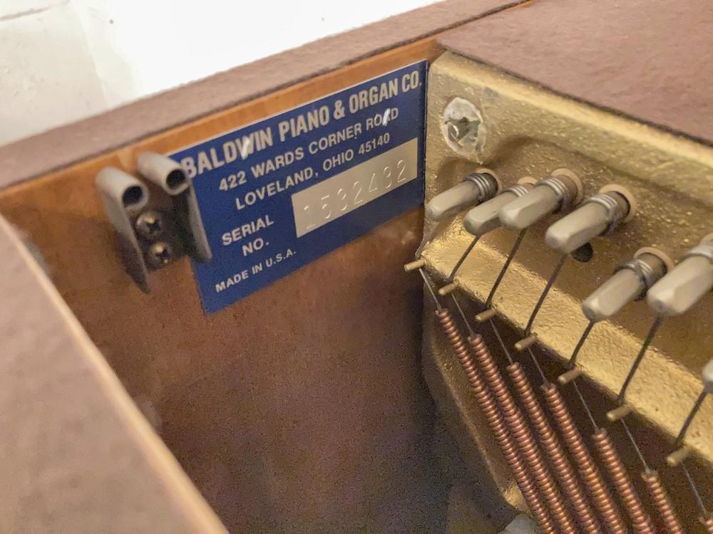 Baldwin Baldwin 665 Oak Console Piano w/ bench
