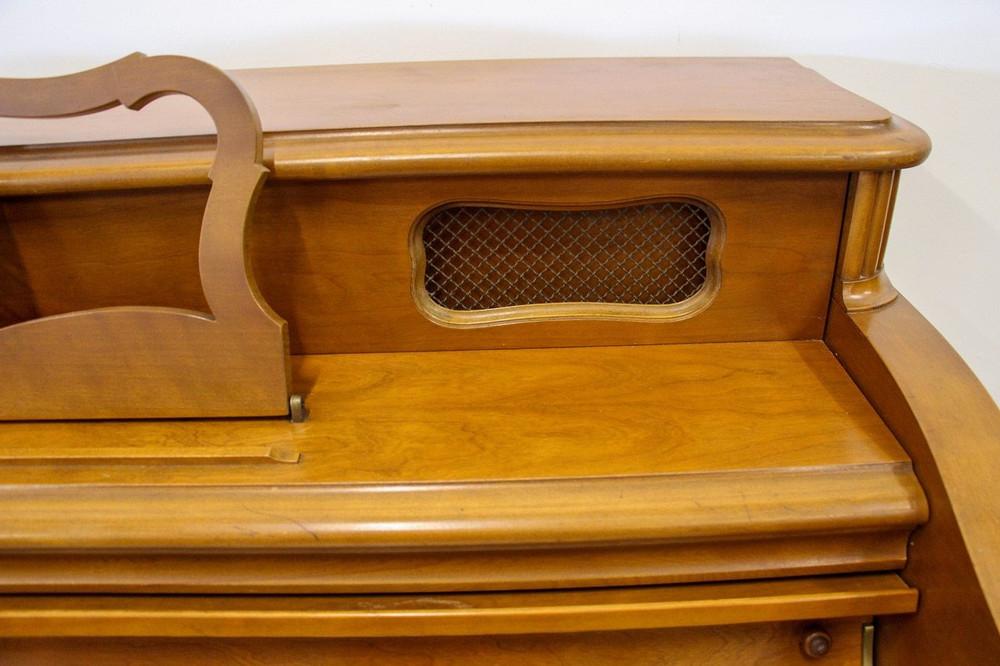 Mason and Hamlin 1958 Mason and Hamlin MFP Upright Piano with matching bench