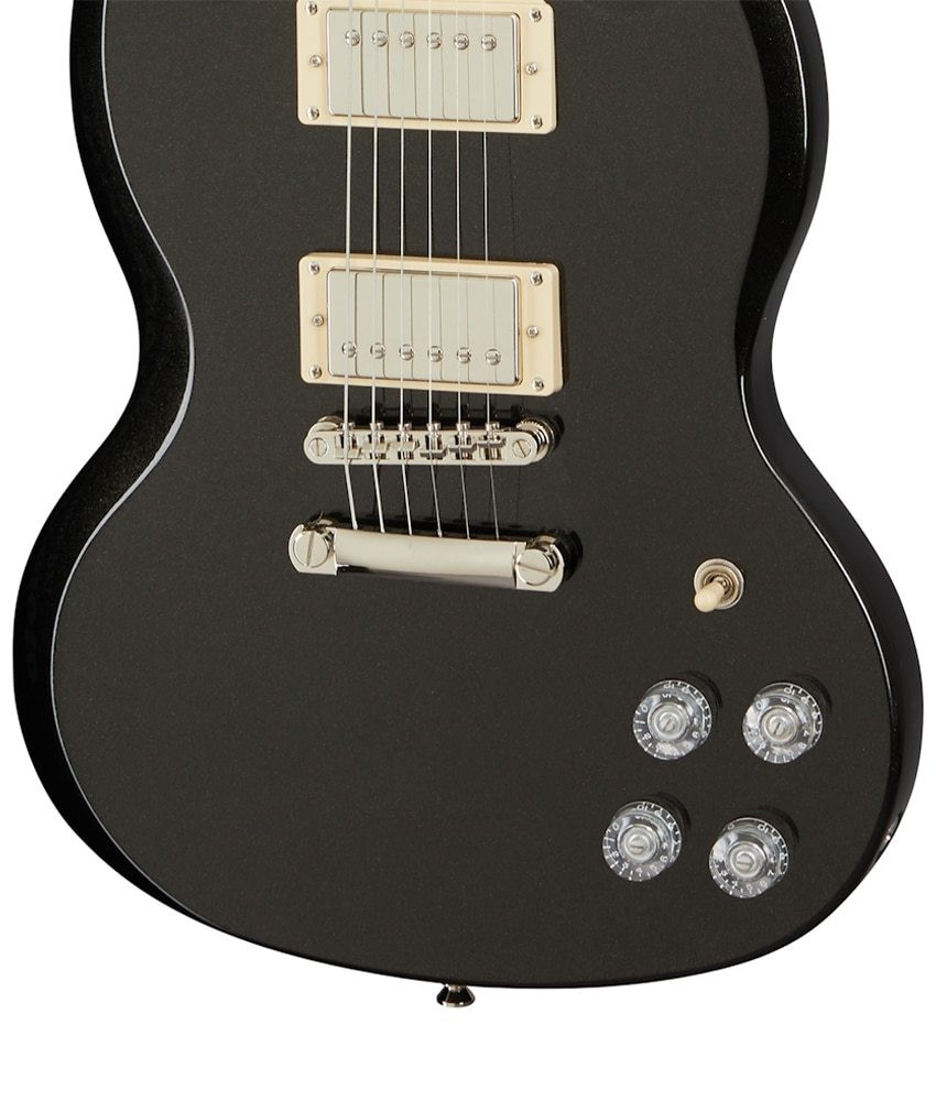 Epiphone Epiphone SG Muse Electric Guitar - Jet Black Metallic