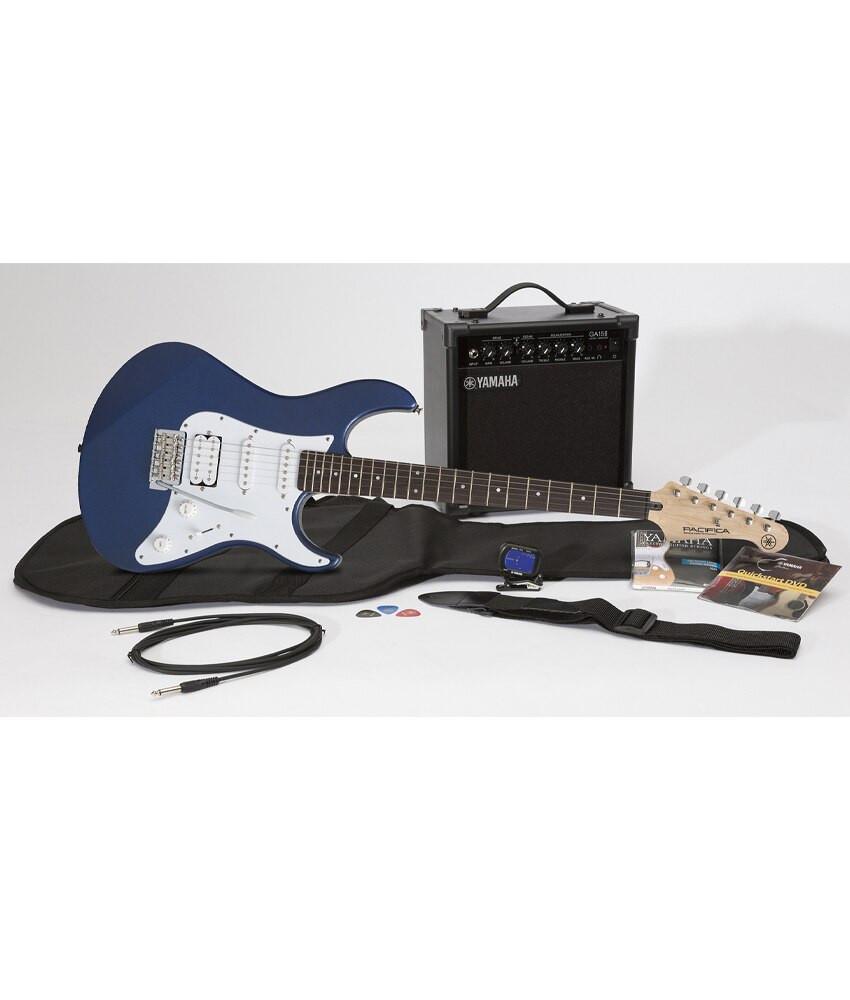 Yamaha Yamaha Gigmaker EG PAC012 Blue Electric Guitar Package w/ Amp