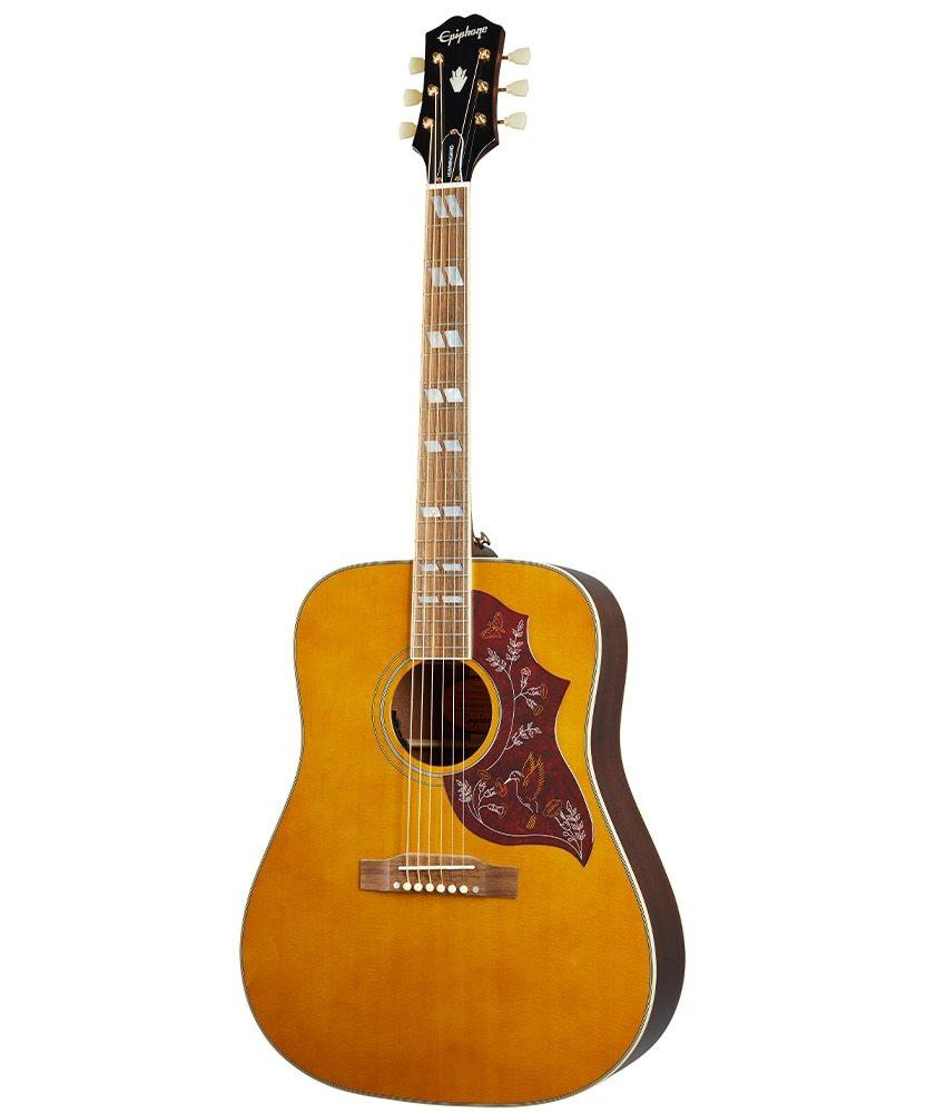 Epiphone Epiphone Hummingbird Acoustic Guitar - Aged Natural Antique Gloss