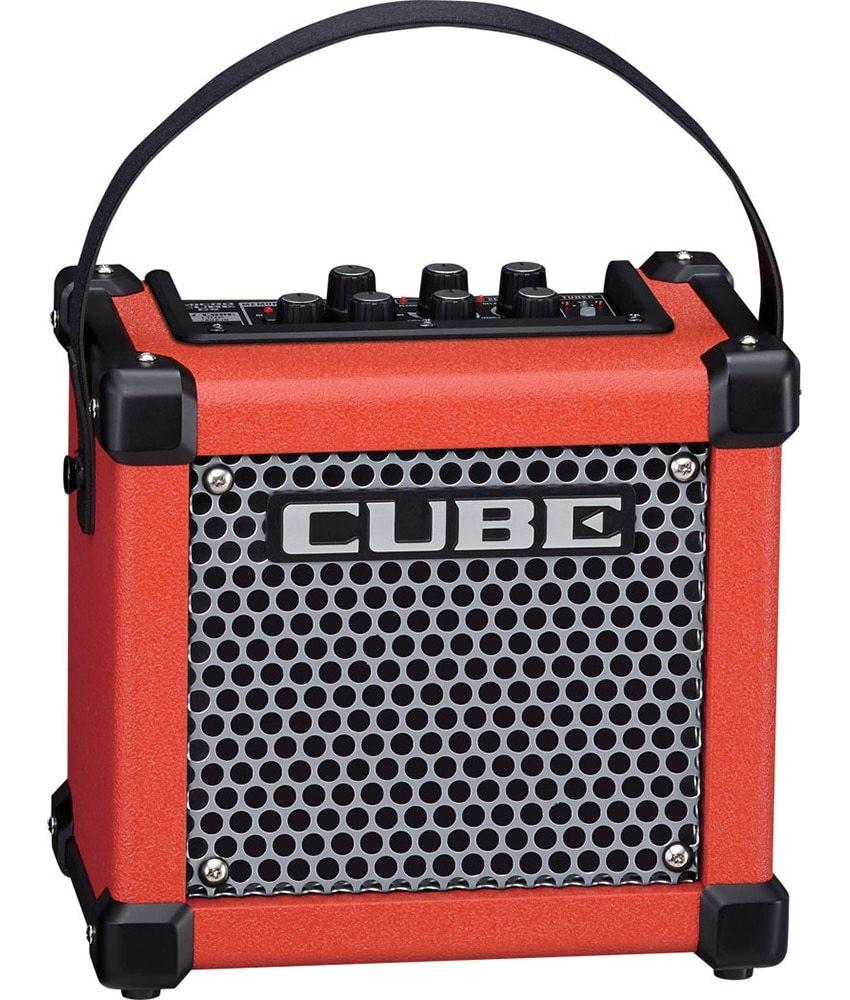 Roland Roland Micro Cube GXR 3-watt 1x5 Battery Powered Combo Amp - Red