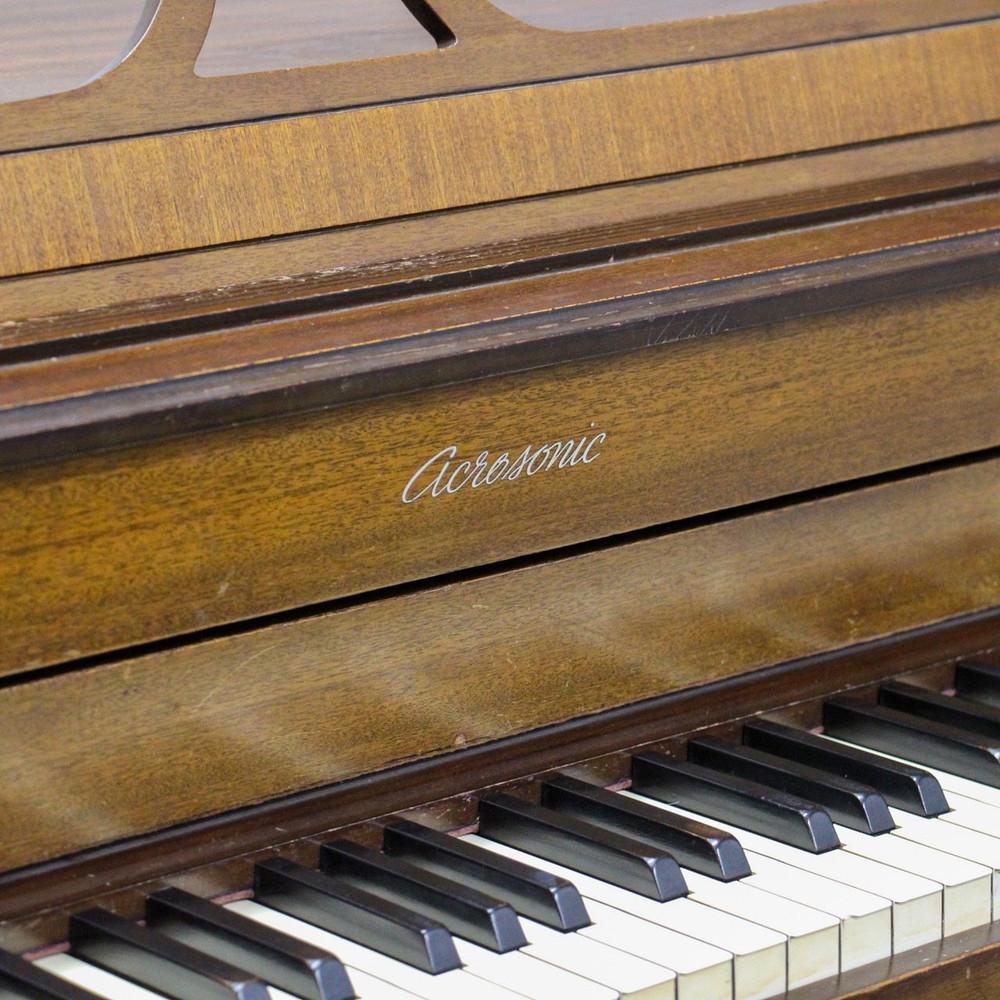 Baldwin Acrosonic by Baldwin Spinet/Console Piano Cherry Finish