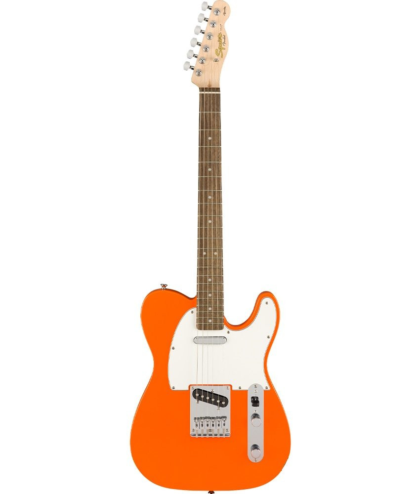 Squier Pre-Owned Squier by Fender Affinity Series Telecaster, Laurel Fingerboard, Competition Orange