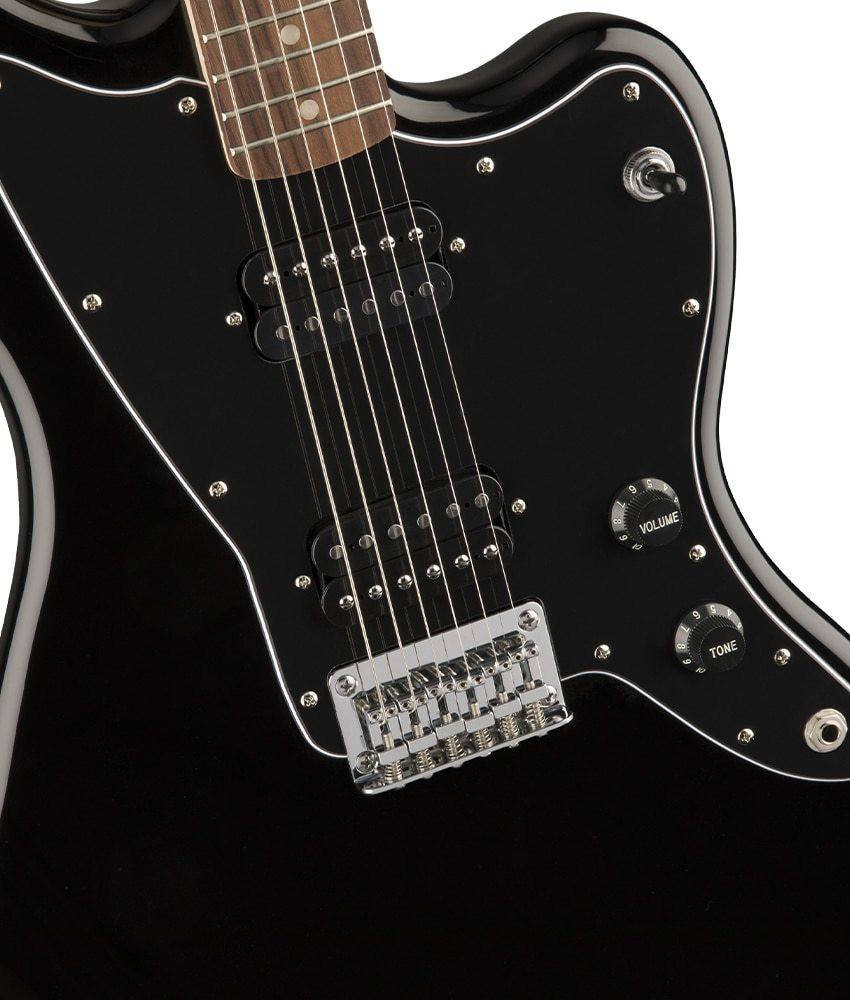 Squier Pre-Owned Squier by Fender Affinity Series Jazzmaster HH, Laurel Fingerboard, Black