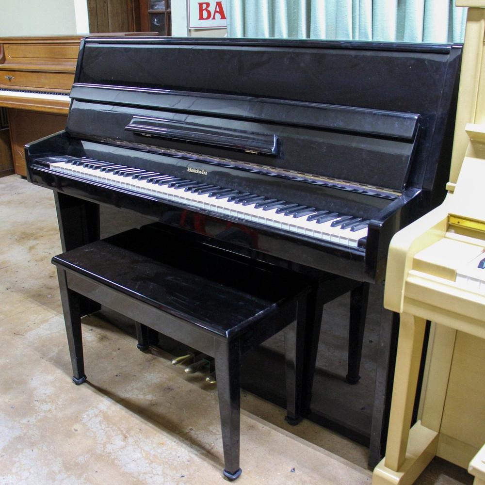 Baldwin Baldwin Polished Ebony Console Piano