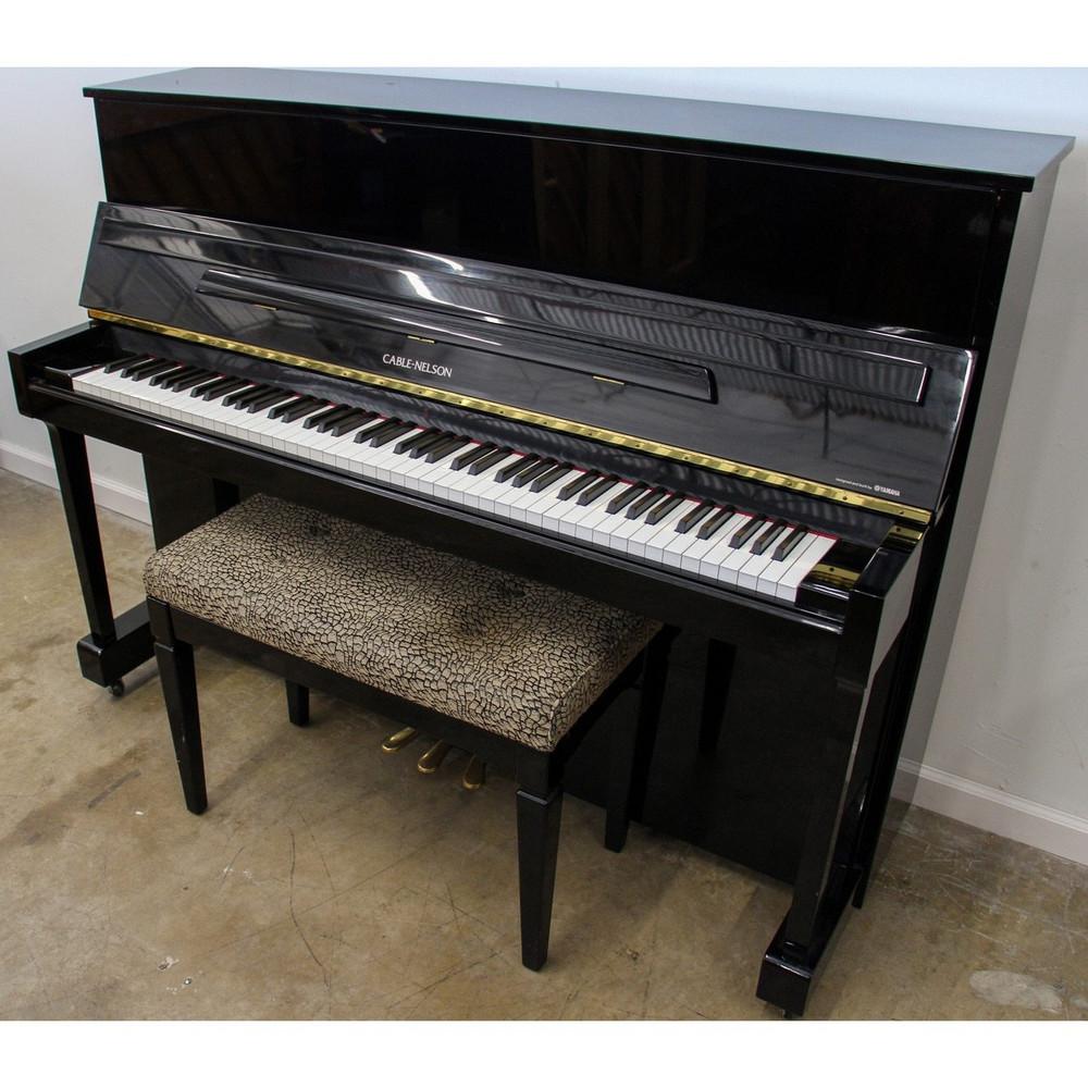 Cable-Nelson CN116 Polished Ebony Upright Console Piano