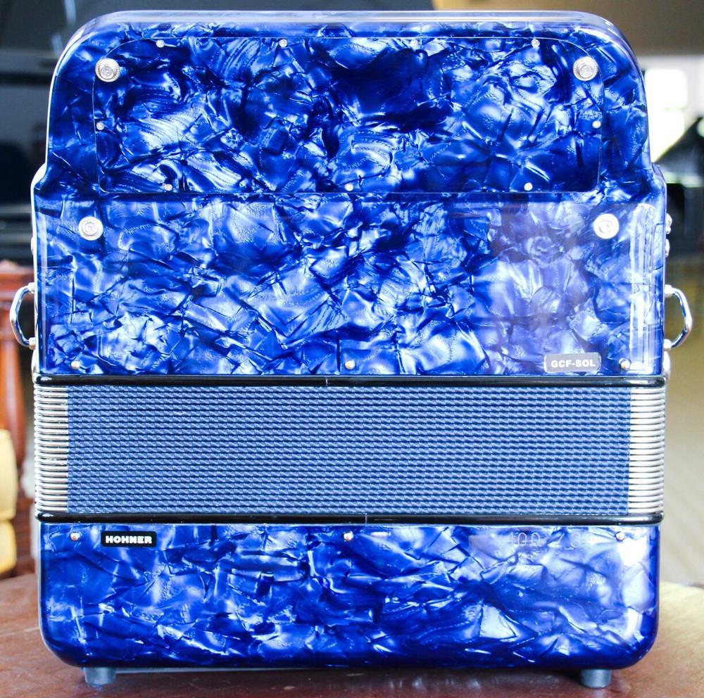 Hohner Hohner Anacleto Rey Del Norte III Compact GCF Blue
