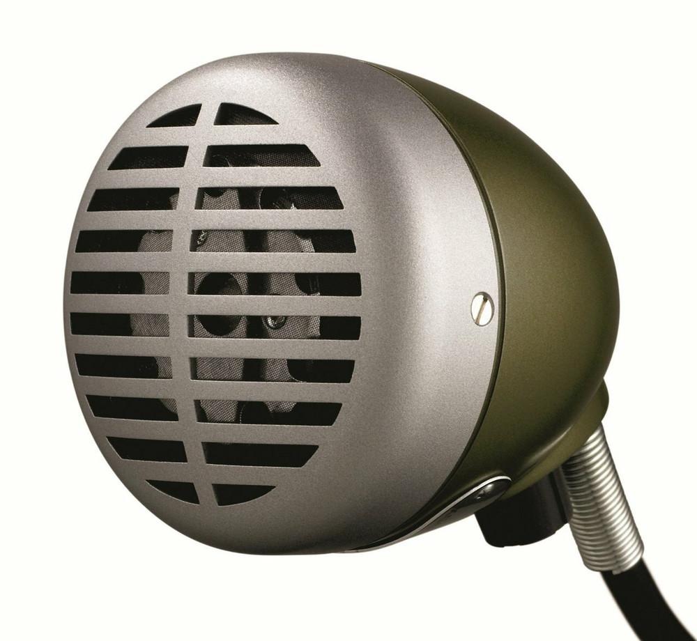 Shure Shure Green Bullet 520DX Dynamic Harmonica Microphone