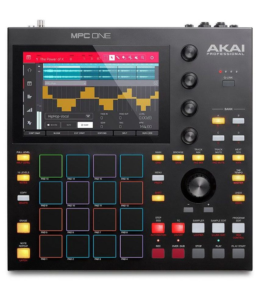 Akai Akai Standalone MPC ONE Music Production Center with 7in Touch Display