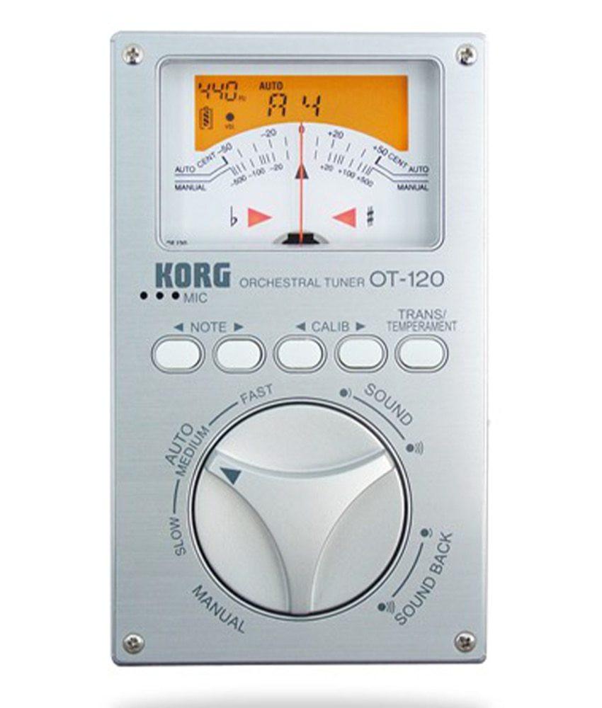 Korg Korg OT120 Chromatic Orchestral Tuner