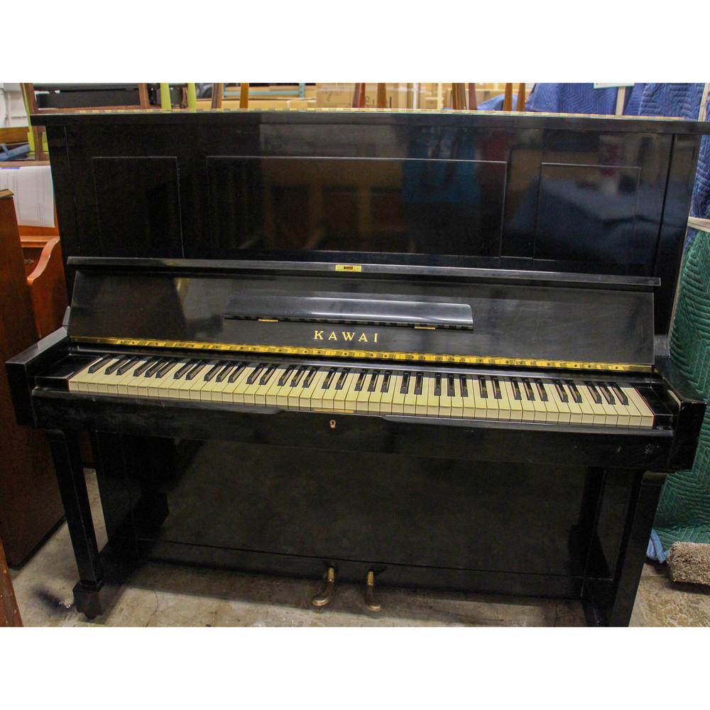 Kawai Kawai K35 Polished Ebony 52 Studio Piano