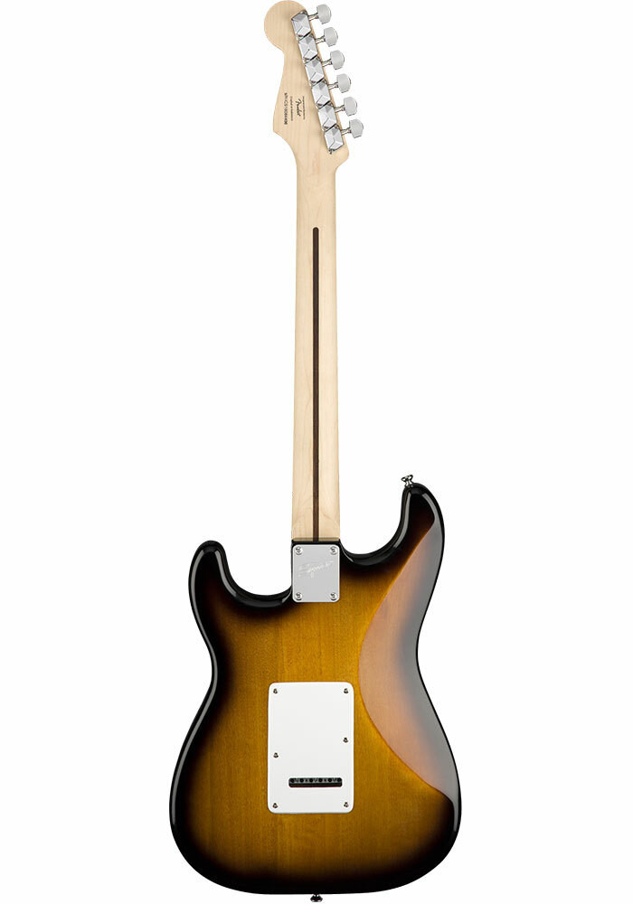 Squier Squier by Fender Stratocaster Pack - Brown Sunburst with Gig Bag