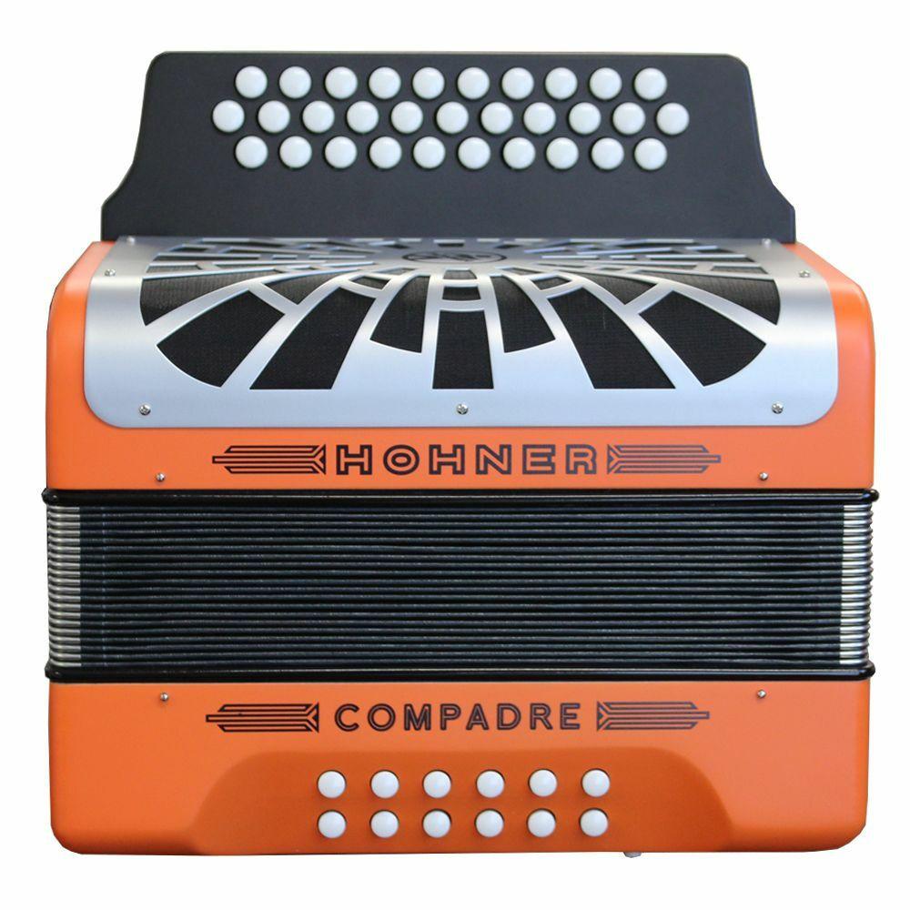 Hohner Hohner Compadre GCF Orange Accordion