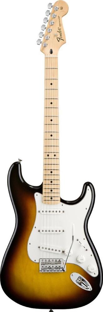 Fender Fender Standard Stratocaster Brown Sunburst Maple Fretboard